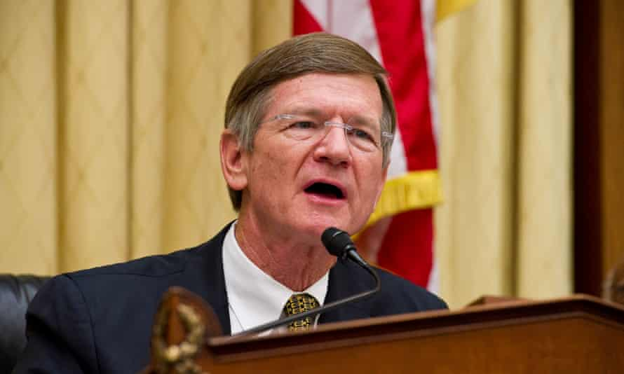 Lamar Smith (R-TX), Chairman of the Science, Space, and Technology Committee at which John Christy's misleading chart was recently presented.
