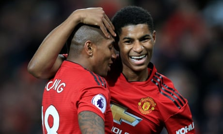Marcus Rashford seals comfortable win for Manchester United over Fulham