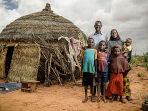 Family in Niger