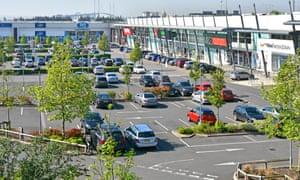 Lakeside Thurrock retail shopping centre