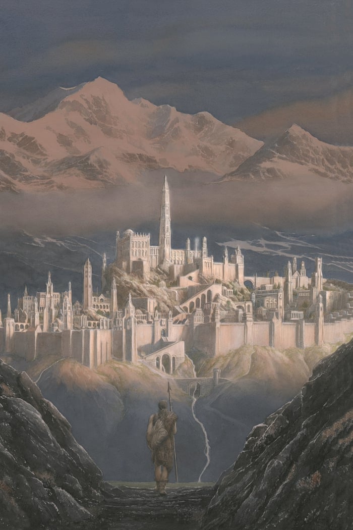 Making Fantasy Reality Alan Lee The Man Who Redrew Middle