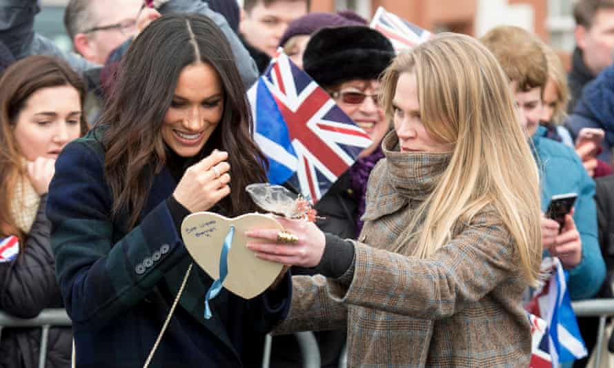 Meghan Markle with her assistant private secretary Amy Pickerill
