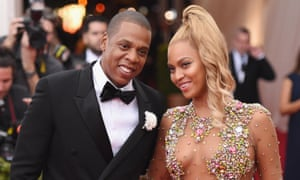 Jay Z and Beyoncé at the 2015 Met Gala