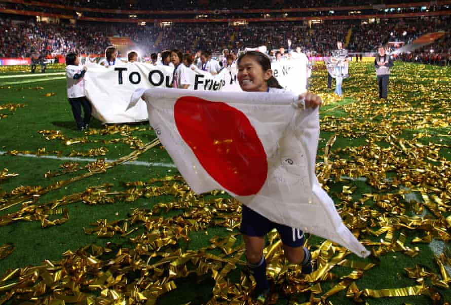 Homare Sawa captained Japan to glory at the 2011 World Cup.
