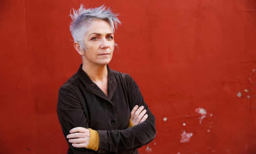 Denise Mina, seen in Partick, Glasgow.
