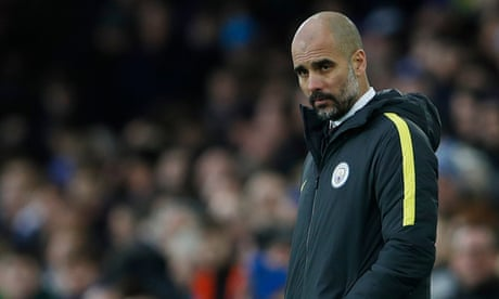 Pep Guardiola rules Manchester City out of title race after Everton thrashing