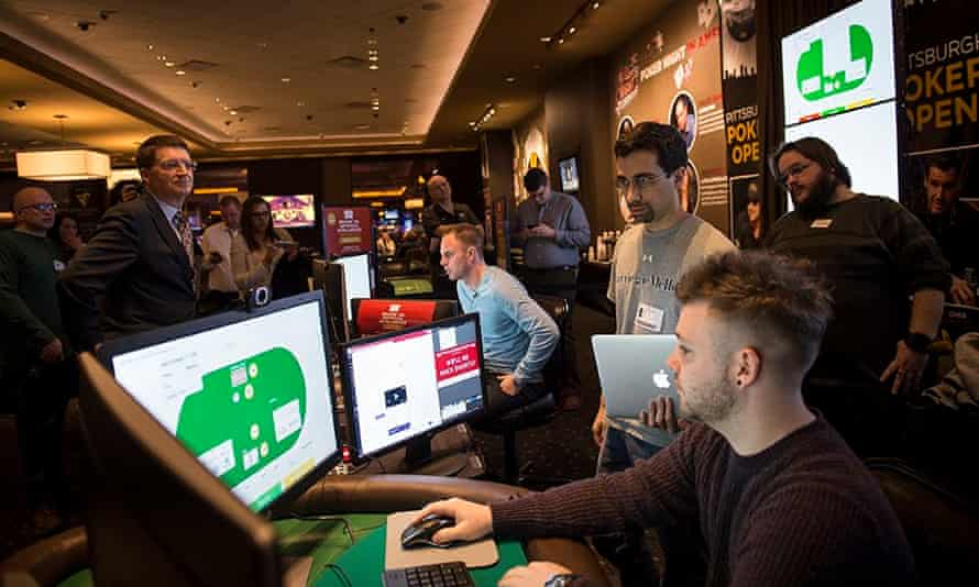 The Brains vs AI competition at the Rivers Casino in Pittsburgh
