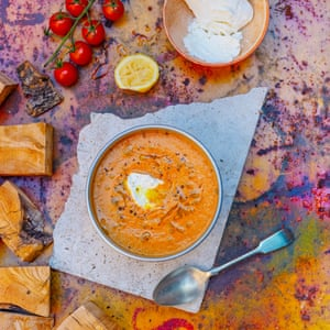 Summer tomato soup.