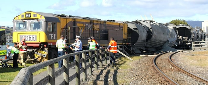 Pair hurt after runaway driverless freight train derailed in