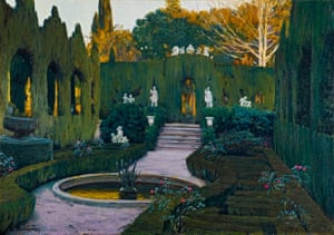 'Like a film set': Gardens of Monforte, 1917 by Santiago Rusiñol.