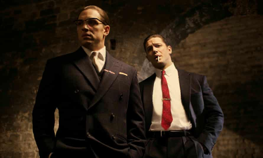 Tom Hardy plays both Ronnie and Reggie Kray in the film