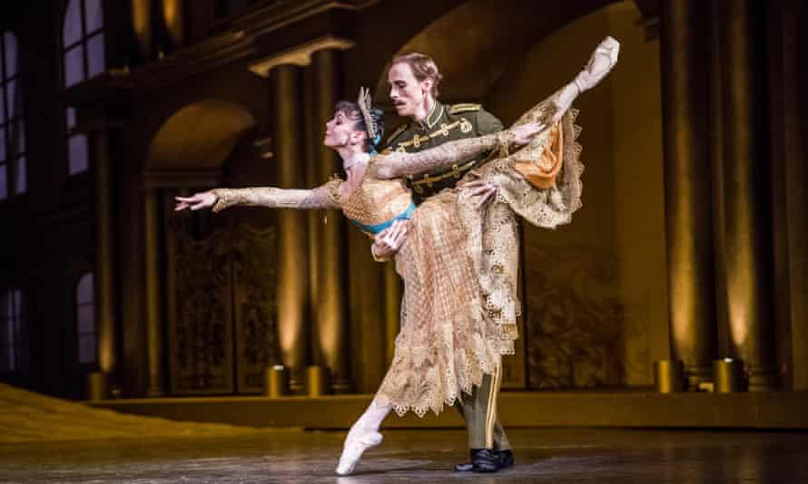 Imperial pomp … Osipova as Anastasia and Edward Watson as the Husband.
