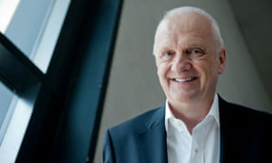 John Raftery, the outgoing vice-chancellor of London Met