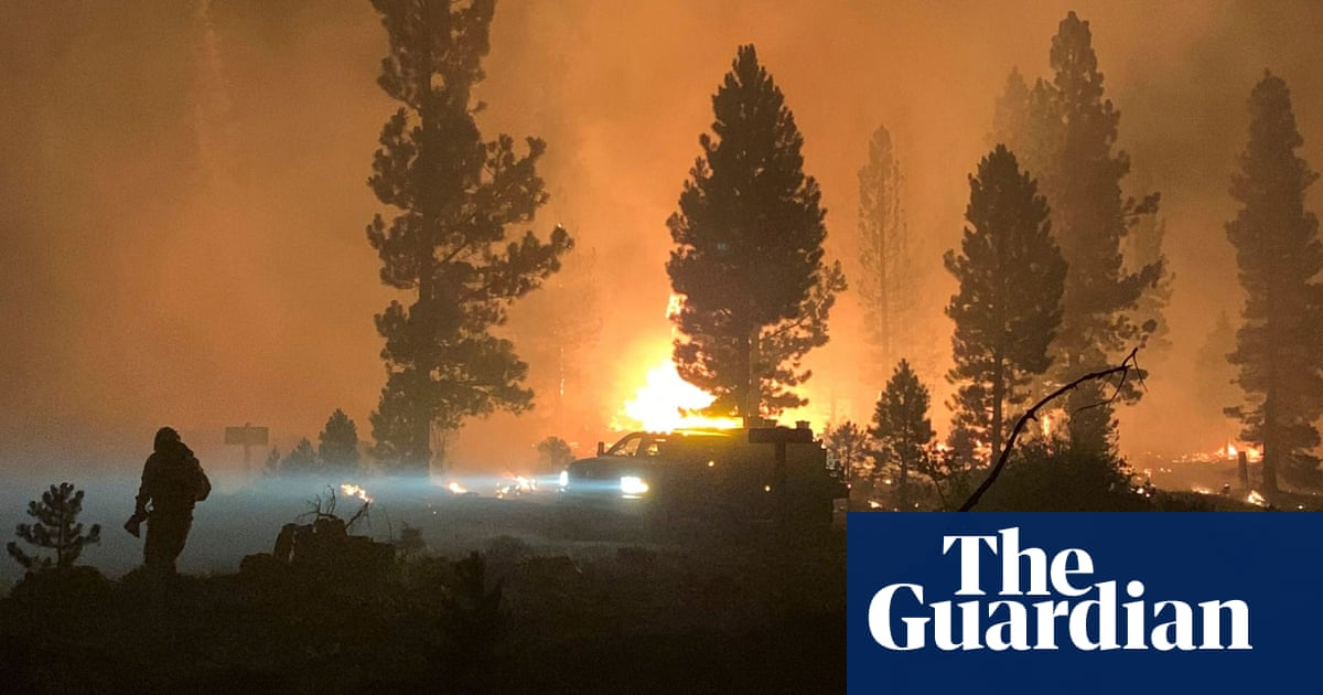 Largest wildfire in US torches more dry forest landscape in Oregon