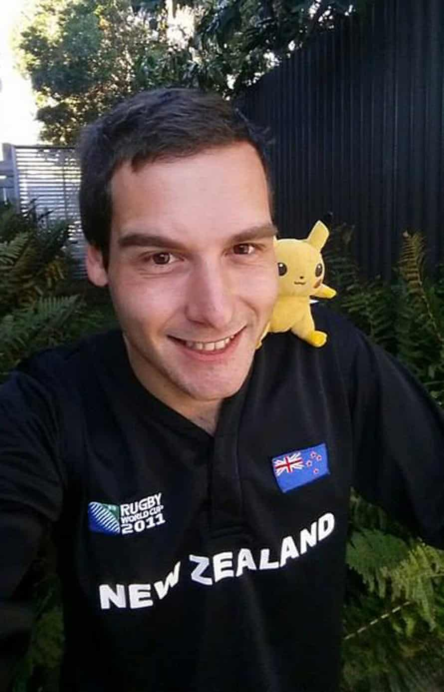 Tom Currie is having a lot of fun capturing Pokémon in New Zealand.