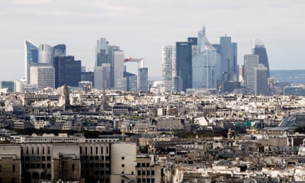 La Defense district of Paris