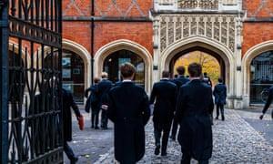 Eton Schoolboys, Eton School, Eton, Berkshire, UK