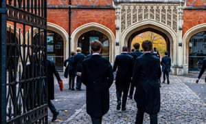 Future perfect? … pupils at Eton College.