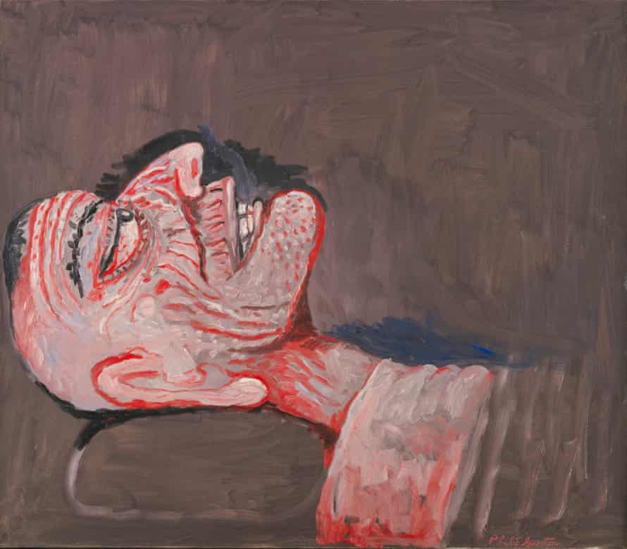 'Like a patient etherised upon a table': East Coker-Tse, 1979 by Philip Guston.