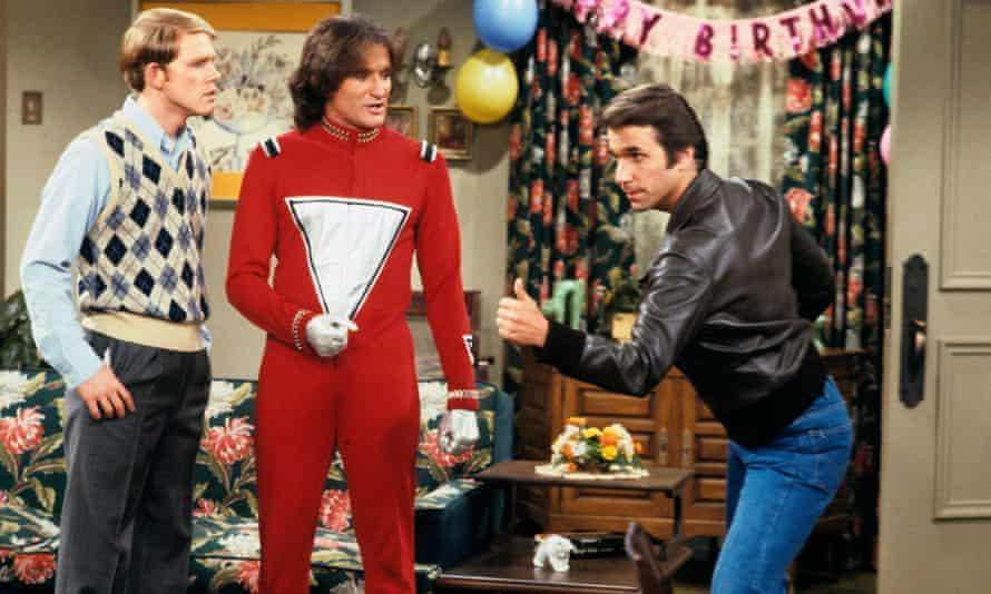 Shazbat that ... Ron Howard, Robin Williams and Henry Winkler.