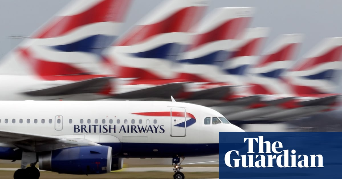 BA blames UK government for scrapping of £340m green fuels project