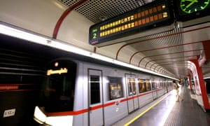 Annual ticket sales for Austria's U-bahn have jumped from 321,000 to 822,000 since the introduction of the €365-a-year ticket.
