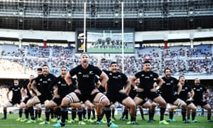 The All Blacks perform the haka