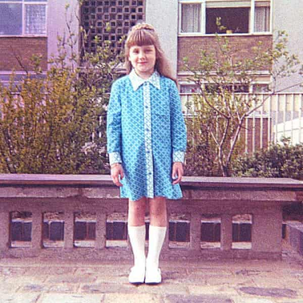 Deborah Orr as a child in Motherwell.