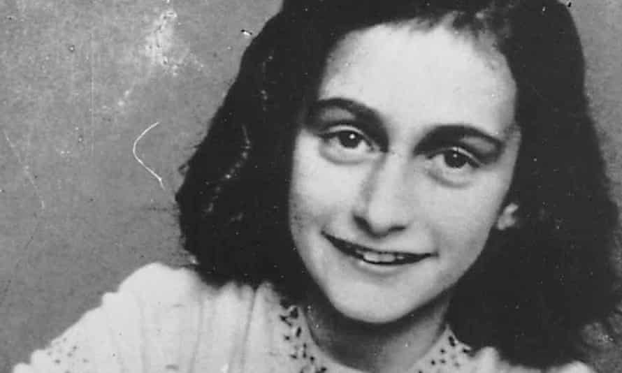 An undated photo of Anne Frank.