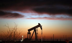 An oil pumpjack works at dawn in the Permian Basin oil field in January in the oil town of Andrews, Texas.  Senator Ted Cruz of Texas was among the biggest beneficiaries of fossil fuel support.
