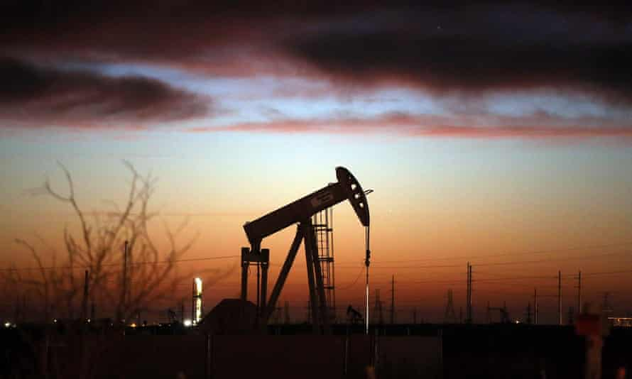 An oil pumpjack in the Permian Basin in Andrews, Texas. Government analysts said they still see most of the increase in oil and gas drilling happening in the Permian Basin.