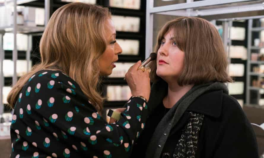 Beauty tips … Tamara Tunie as Julia and Joy Nash as Plum in Dietland.