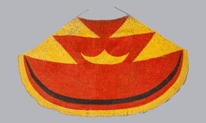 Ahu ula (feather cloak) belonging to Liholoho, Kamehameha II, early 19th century