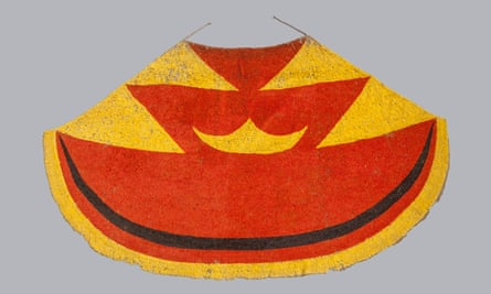 Ahu ula (feather cloak) belonging to Liholoho, Kamehameha II, early 19th century