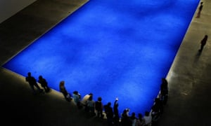 yves klein and the birth of the blue art and design the guardian