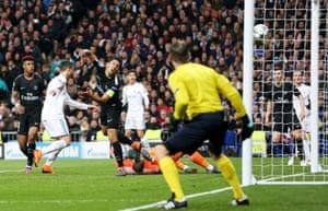 Ronaldo scores his sides second.