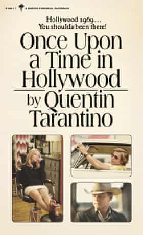 The cover for Tarantino's novel Once Upon a Time in Hollywood.