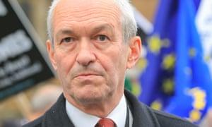 Richard Corbett, leader of Labour's 20 representatives in the European parliament.