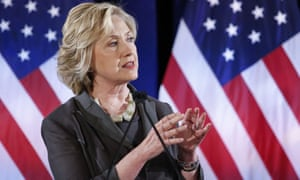 Democratic presidential candidate Hillary Clinton speaks at the Call for Shift from Quarterly Capitalism conference at the New York University in New York.