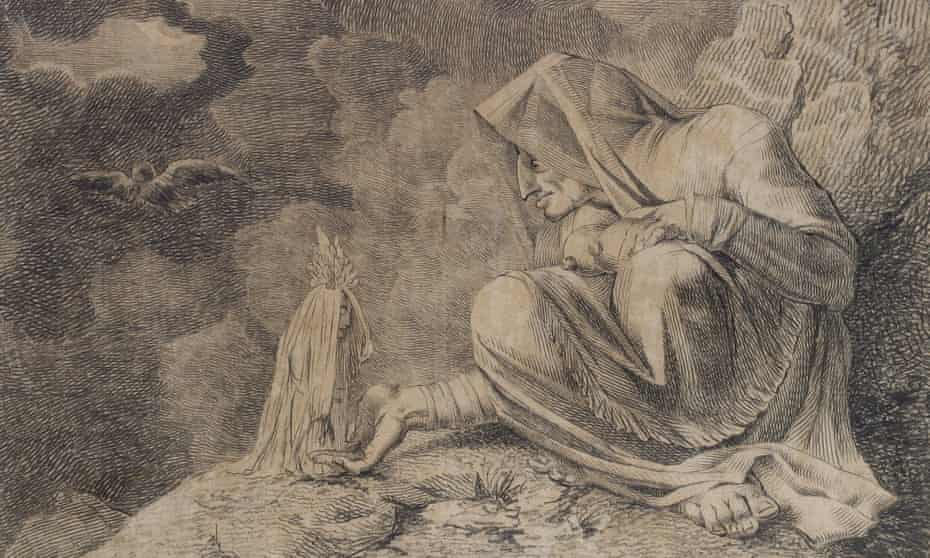 The Witch and the Mandrake (1812) by Henry Fuseli.