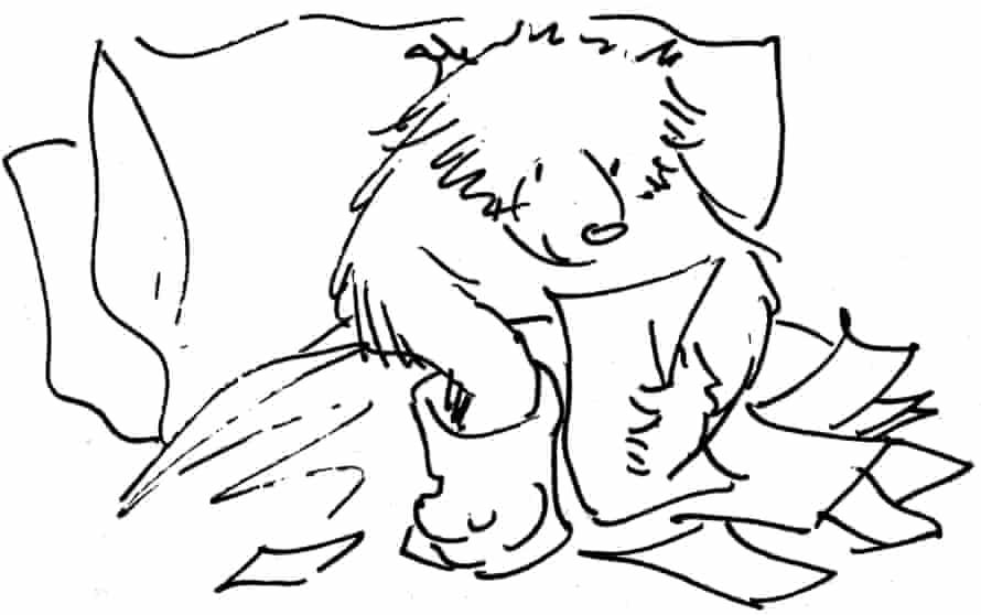 Line drawing of Paddington
