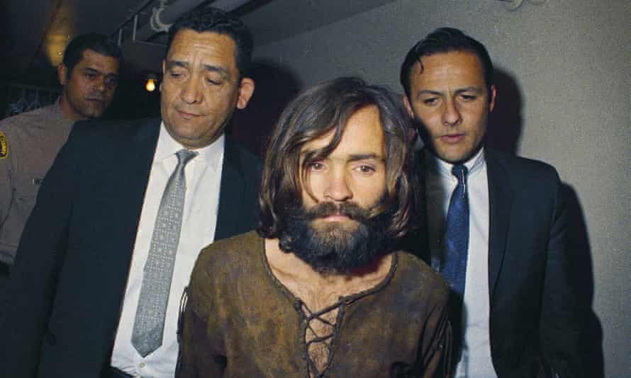 Charles Manson is arrested for his role in the murder of Sharon Tate in 1969