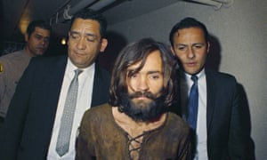 Feted as a martyr … Charles Manson in 1969.