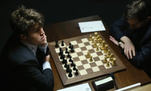 Magnus Carlsen is expected to be in London for a world championship match in November.