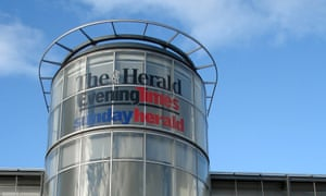 The Glasgow Herald building