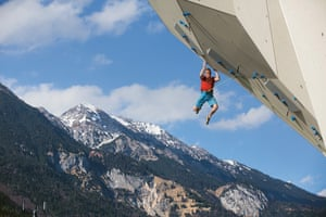 The Innsbruck Climbing Centre in Austria has more than 65,ooo sq ft of climbing surface, with areas dedicated to lead, boulder and speed climbing
