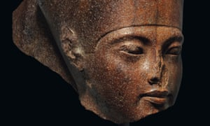 The brown quartzite bust of young king Tutankhamun sold at Christie's in London for £4.7m ($5.97m).