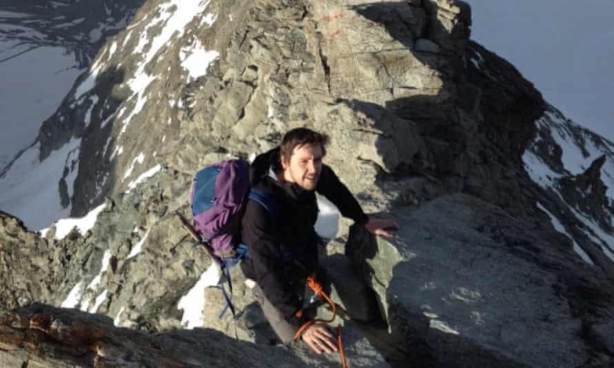 Dan Richards, author of Climbing Days
