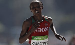 Jemima Sumgong has been banned until 2025