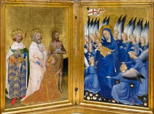 The Wilton Diptych.